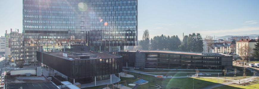 Styria Media Center, SMC, Neubau
