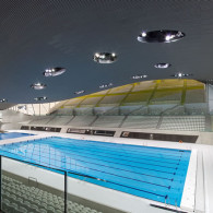 FLOORTEC Fußbodenheizungssysteme im Aquatics Center in London