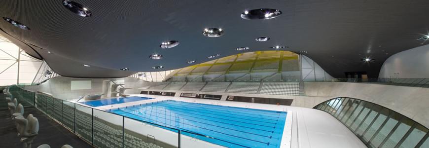 FLOORTEC Fußbodenheizungssysteme im Aquatics Center in London