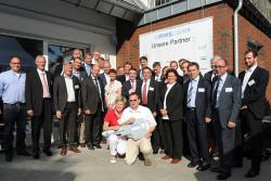 Feierliche Eröffnung des RWE Zukunftshauses mit den Projektpartnern