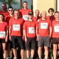 Das VOGEL&NOOT Laufteam beim Brucker Businesslauf 2017